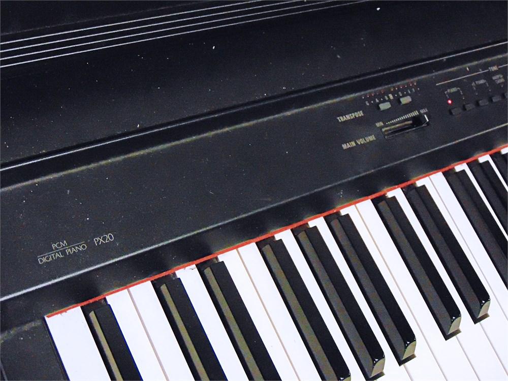 uw swap online auction technics sx px20 digital piano keyboard 47289c. Black Bedroom Furniture Sets. Home Design Ideas