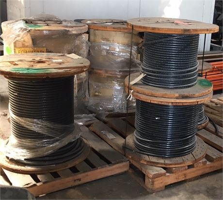 Madison Wire And Cable | Uw Swap Online Auction Large Lot Of Wire Uw Madison 47906