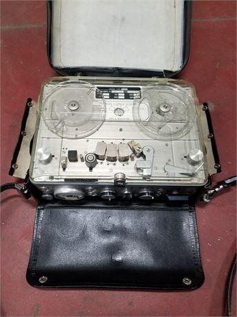 Vintage Nagra Portable Reel To Recorder Uw Milwaukee 47938