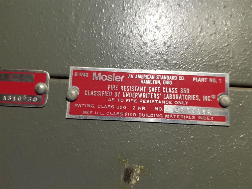 UW SWAP Online Auction - Mosler Safe(UW-MILWAUKEE) # 48348