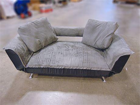 Atherton Home Convertible Futon Sofa Bed And Lounger 50834b