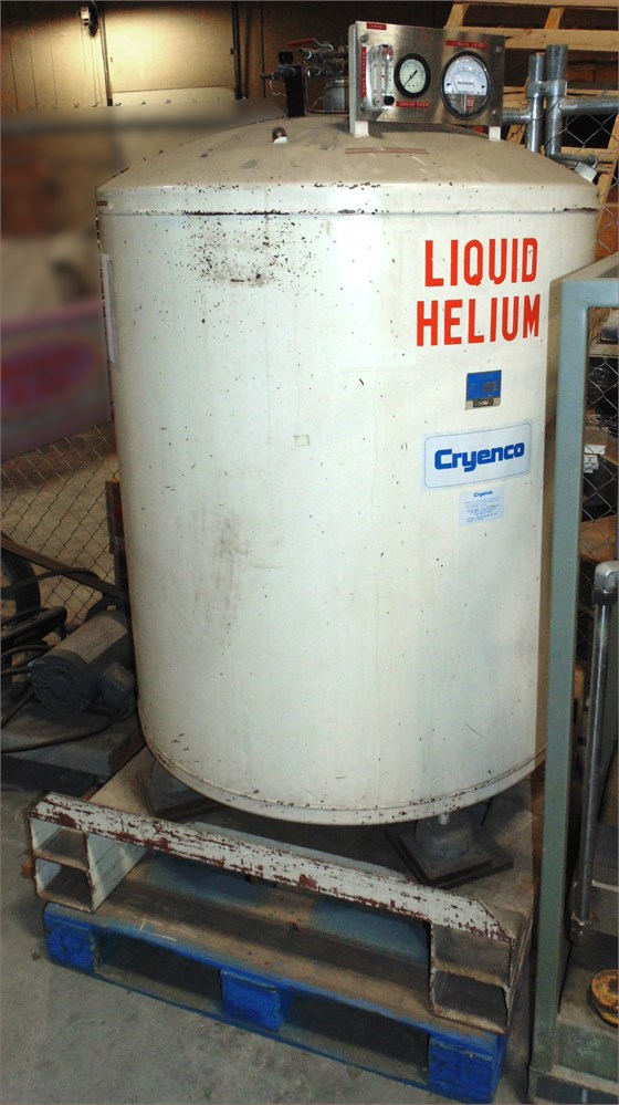 UW SWAP Online Auction - Liquid Helium Tank #53553