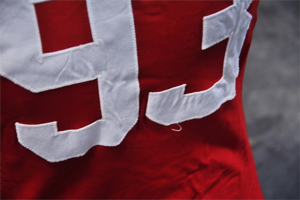 UW SWAP Online Auction - Badger Football Jersey #93 #53855A