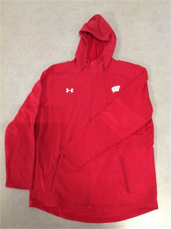 Size 2X Water Resistant Zip Up Jacket