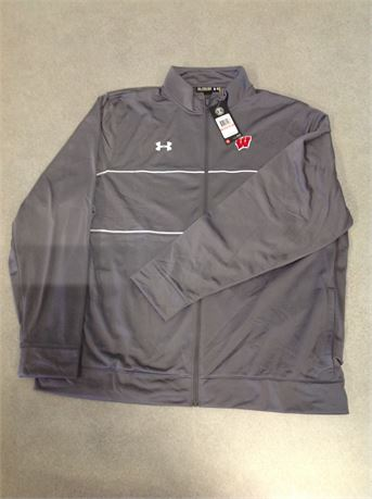 "Size 3XL ""Rival Knit"" Warm Up Jacket"